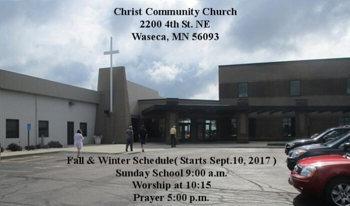 Church with Schedule