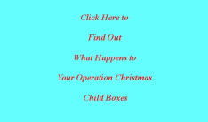 Operation Christmas Child Info